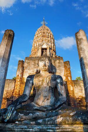 Wat Phra Si Rattana Mahathat - Chaliang at Si Satchanalai Historical Park in Thailand