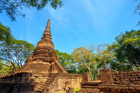 Wat Nang Phaya Temple at Si Satchanalai, Thailand