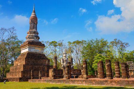 Wat Tra Phang Ngoen Temple at Sukhothai Historical Park Stock Photo
