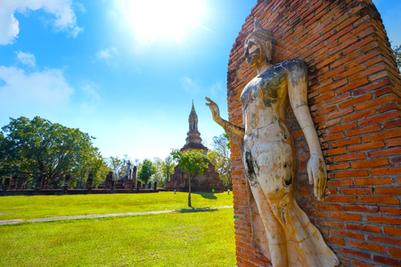 Wat Tra Phang Ngoen Temple at Sukhothai Historical Park, a UNESCO World Heritage Site in Thailand
