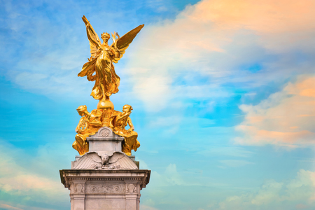 Victoria Memorial at the Mall Road in front of Buckingham Palace, London