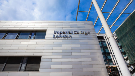 LONDON, UNITED KINGDOM - MAY 14 2018: Imperial College London is a public research university located in South Kensington, with a new innovation campus in White City
