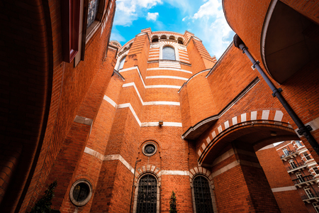 Westminster Cathedral in London, UK