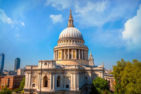 Catedral de San Pablo en Londres, Reino Unido Londres Foto de archivo