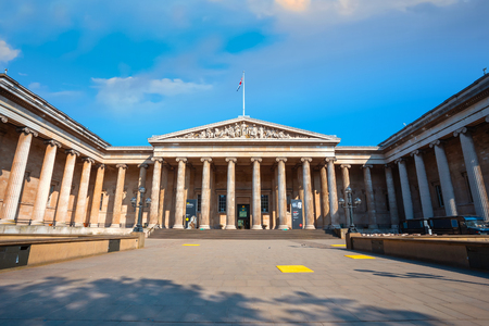 London, UK - May 20 2018: The British Museum is a public institution dedicated to human history, art and culture and is among the largest and most comprehensive in existence. Sajtókép