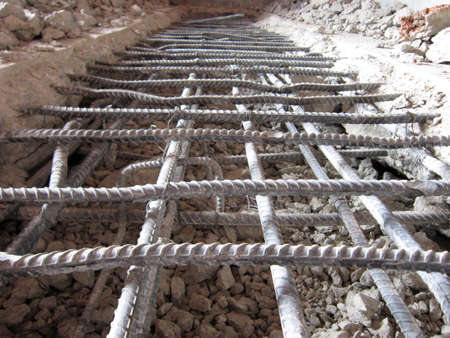 Tied  Reinforcing Steel Panels photo
