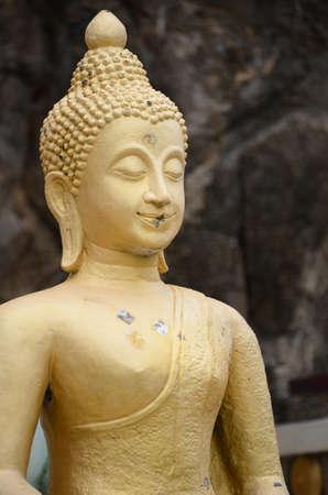 khan: buddha statue in Prachuap Khiri Khan, thailand Stock Photo