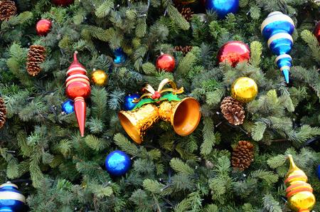 merrychristmas: beautiful Hong Kong style christmas tree acessory Stock Photo