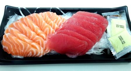 Raw fresh sashimi fish - Japanese food style Stock Photo
