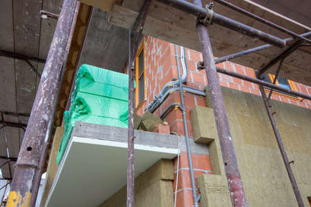 house insulation close up