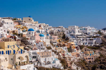 gorgeous village Oia in Santorini