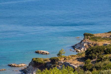 shore on Samos island