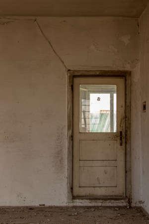 old door in building