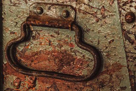 old rustic handle Imagens