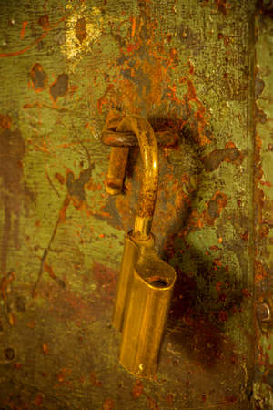 old rustic lock