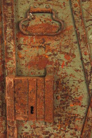 old rustic iron lock Imagens