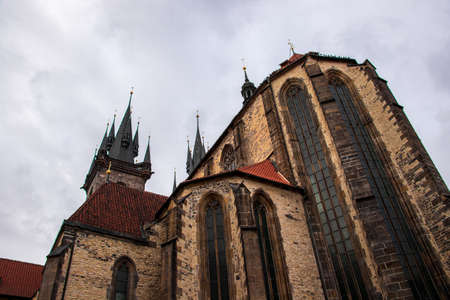 Church of Our Lady before Týn from side
