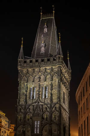 Picture of guard tower in Pragua city Reklamní fotografie - 138994278