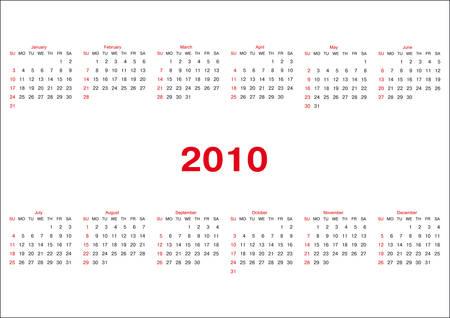 Calendar Stock Vector - 5363162