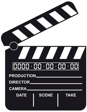 Offene Digital Film Clapboard
