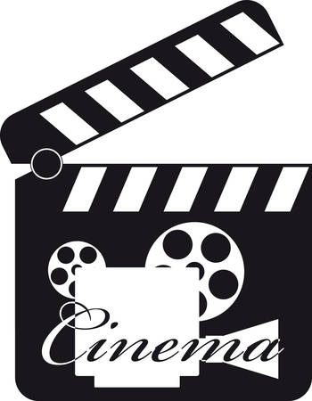 Movie Clapboard Stock Vector - 5415408