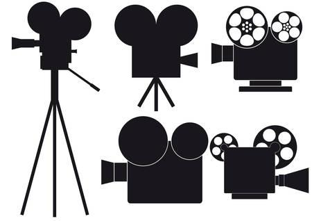 movie camera: movie camera
