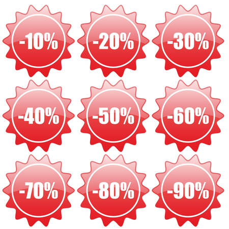 Discount label and sticker Stock Vector - 5556737