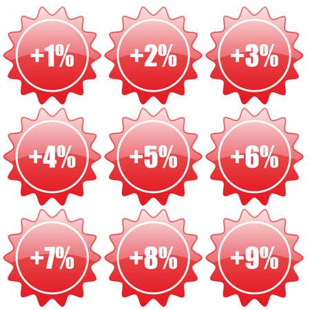 percent Stock Vector - 5556736