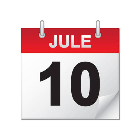Kalendersymbol  Illustration