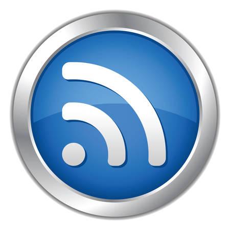 Web 2.0 Blue Button.