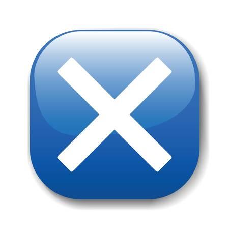 Der dunkelblaue Schaltfl�che f�r eine Website zu erstellen. Ein Vektor-Illustration, ist es leicht zu bearbeiten und zu ver�ndern.