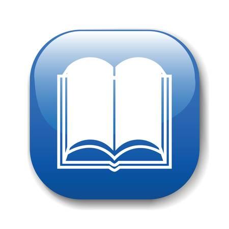 El botón de color azul oscuro de un sitio web. Una ilustración vectorial, es fácil de editar y cambiar. Ilustración de vector