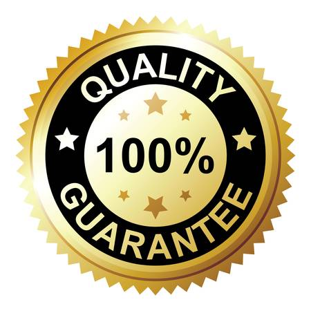 Quality guarantee Vector