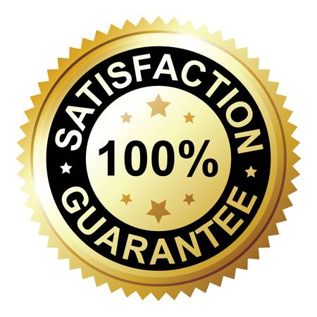 Satisfaction guarantee Stock Vector - 12496842