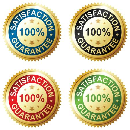 Satisfaction guarantee Stock Vector - 12496846