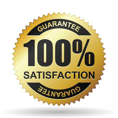 medallion: Satisfaction guarantee