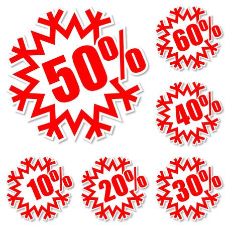 give away shop: Discount label