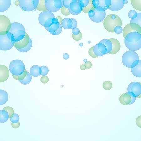 Bubbles Abstract Background, Vector eps 10