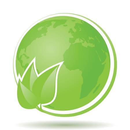 Green ECO FRIENDLY Label Stock Vector - 17307462