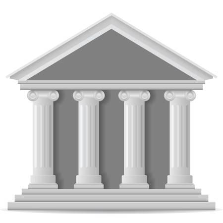 Bank pictogram, vector eps versie 8