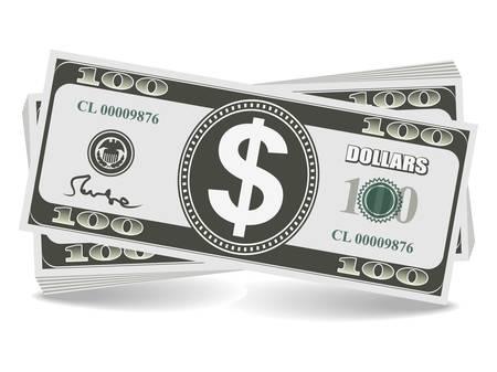 dollar bills: Dollar Illustration