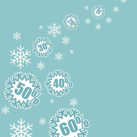 last year: Christmas sale design template
