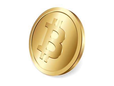 peer to peer: Moneda de oro de Bitcoin, cryptocurrency descentralizada