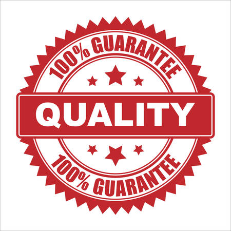 100% Quality guarantee Illustration