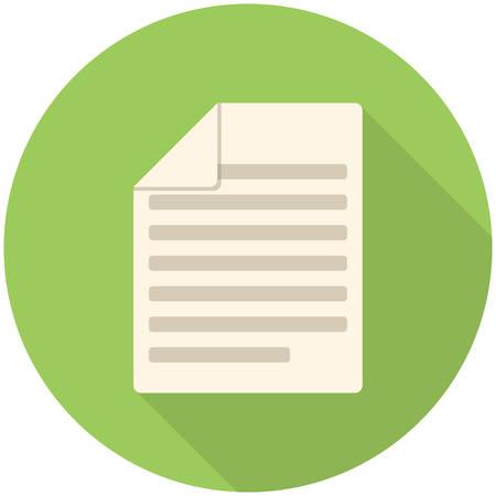 artikelen: Artikelen, moderne platte icoon met lange schaduw