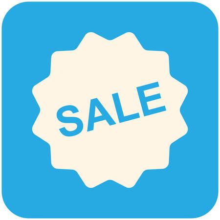 Sale icon, modern flat design Vector
