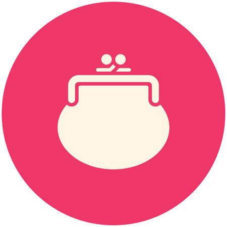 purse: Purse icon (flat design)