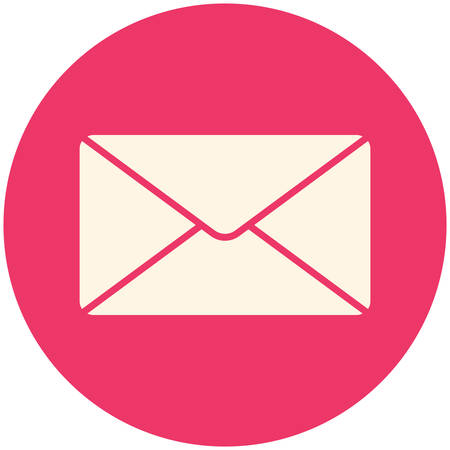 message: Message icon (flat design)