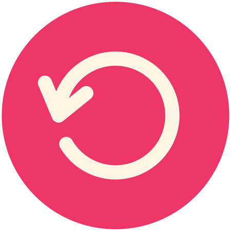 refresh button: Refresh, modern flat icon Illustration