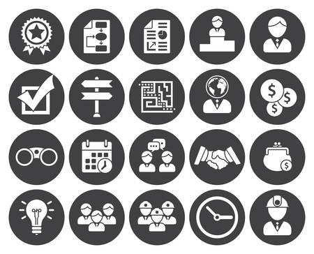 gestion: Iconos de negocio (diseño moderno apartamento)